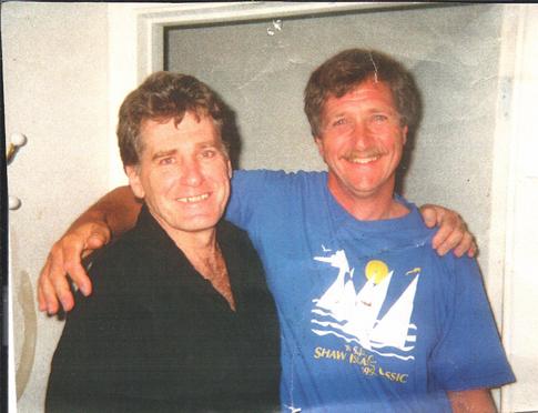 Aguas Blancas. John and Rich