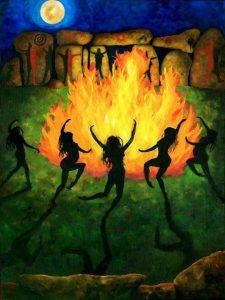 Danza en el fuego